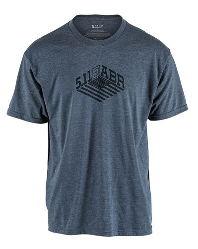 5.11 Stronghold Tee Navy Heather