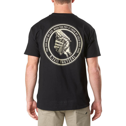 5.11 Cold Dead Hands 45 Tee Black