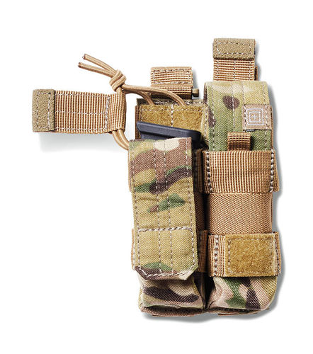 5.11 Double Pistol Bungee Cover Multicam