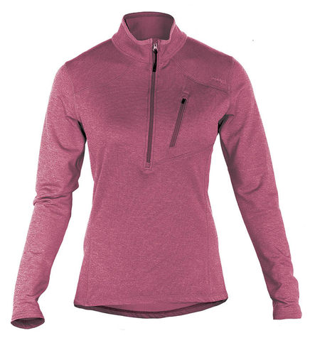 5.11 Woman´s Glacier Half Zip Berry