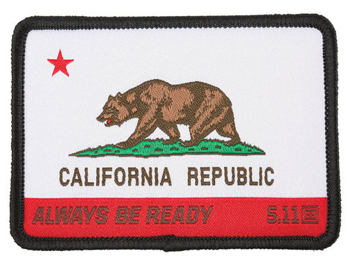 5.11 California State Bear Patch Multi