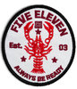 5.11 Lobster Claws Patch Red