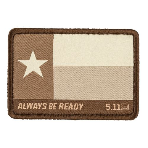 5.11 Texas Flag Patch Coyote
