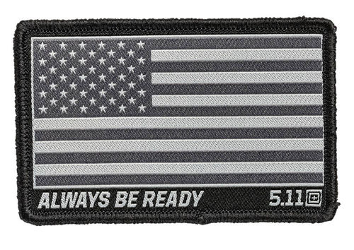 5.11 USA Flag Woven Patch Double Tap