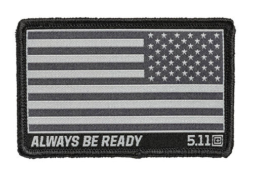 5.11 USA Flag Reverse Woven Patch Double Tap