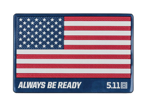 5.11 USA Safe Flag Patch Multi