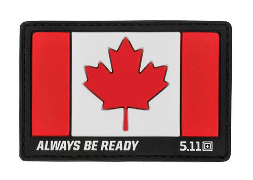 5.11 Canada Flag Patch Red