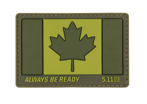 5.11 Canada Flag Patch Sage Green