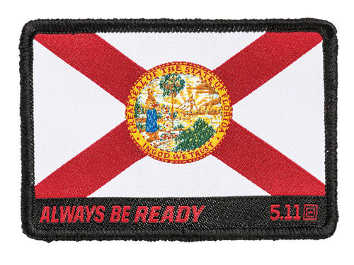 5.11 Florida State Flag Patch Multi