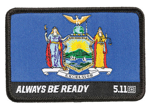 5.11 New York State Flag Patch Multi