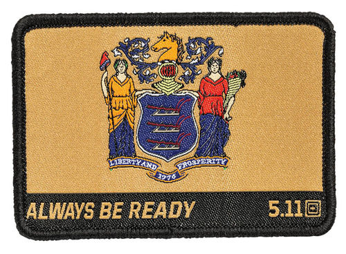 5.11 New Jersey State Flag Patch Multi