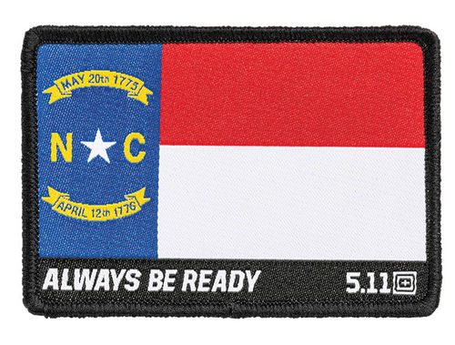 5.11 North Carolina State Flag Patch Multi