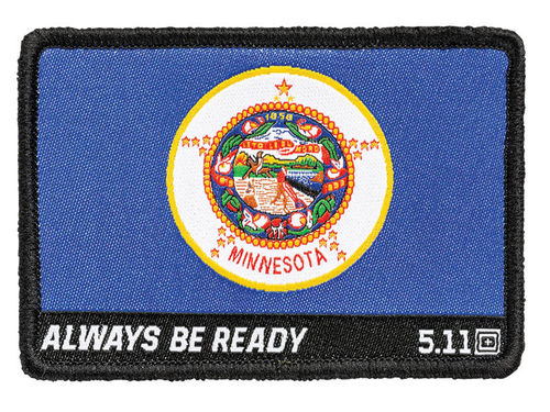 5.11 Minnesota State Flag Patch Multi