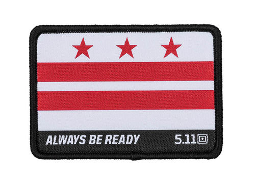 5.11 Washington D.C Flag Patch