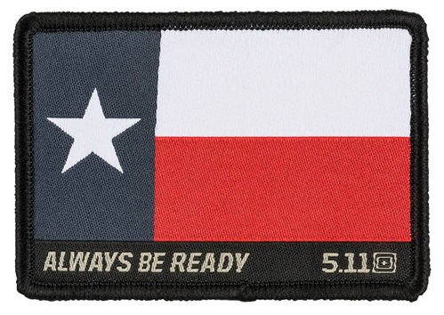 5.11 Texas Flag Patch Multi