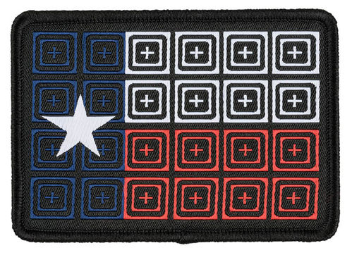 5.11 Reticle Flag Patch Black