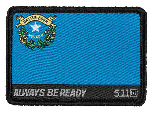 5.11 Nevada Flag Patch Multi