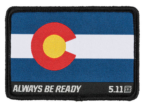 5.11 Colorado Flag Patch Multi